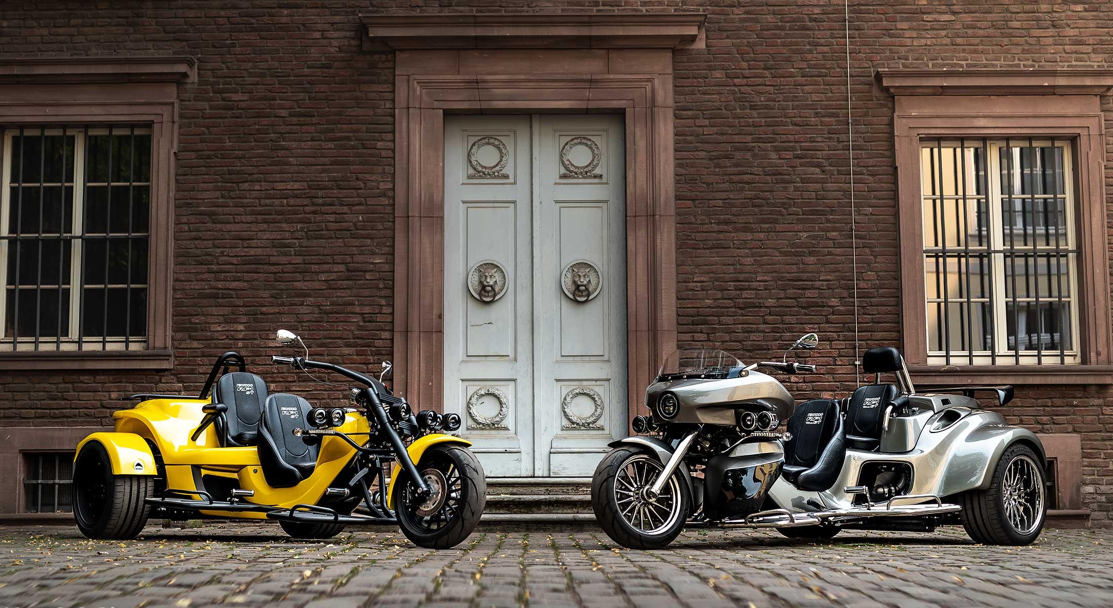 Geführte Trike Touren im Chiemgau