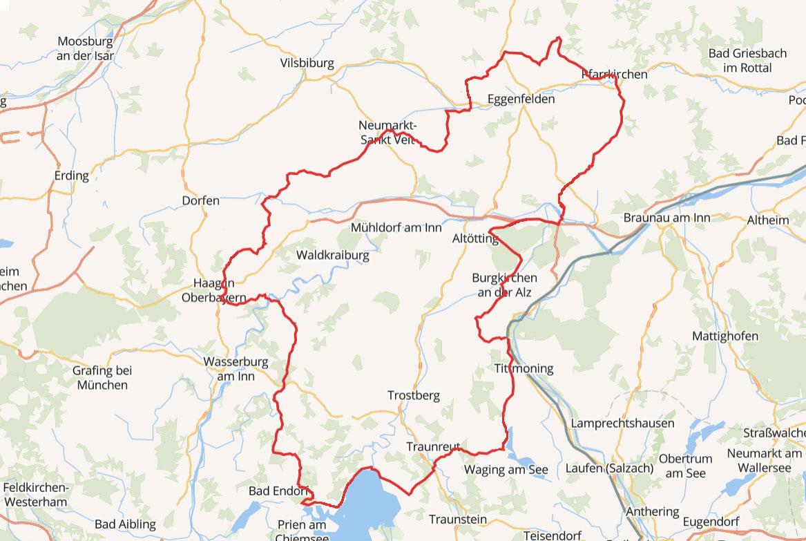 Die Niederbayern Tour mit dem Trike