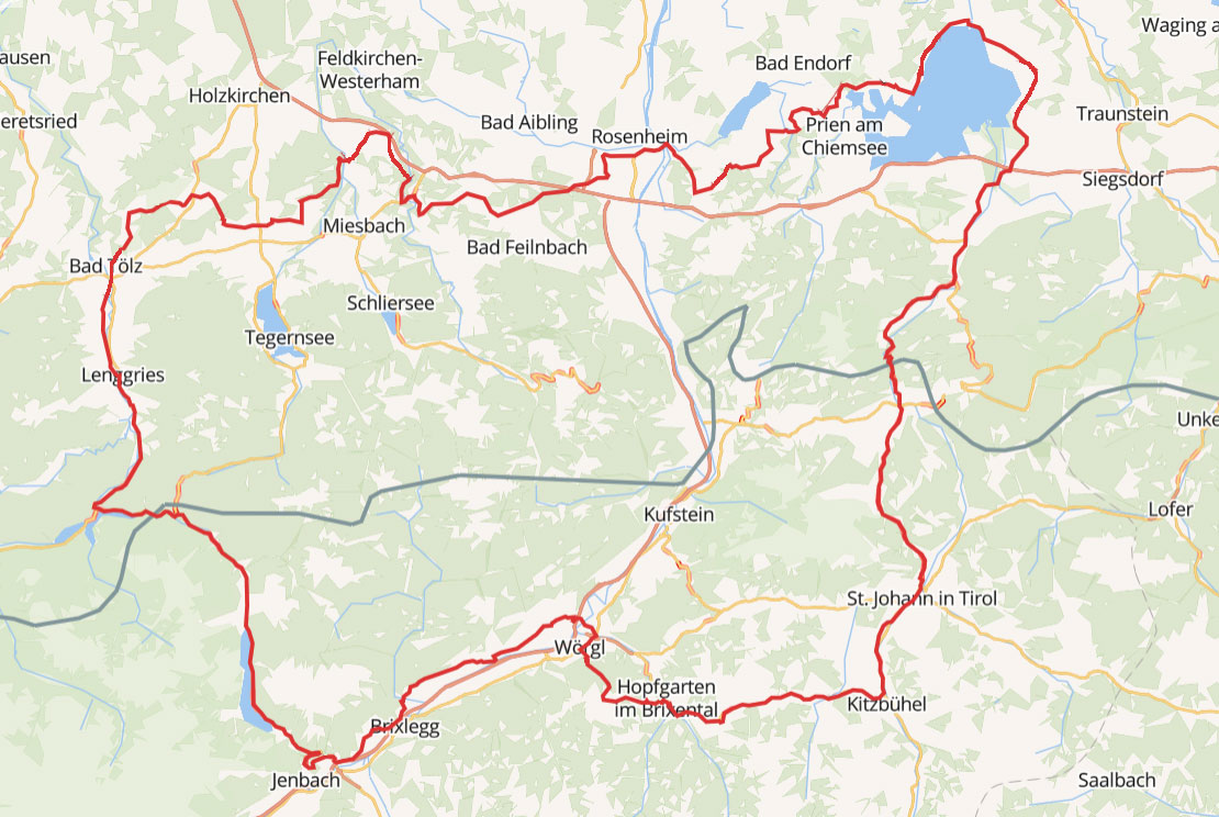Geführte Trike Tour Achenpass - Zillertal